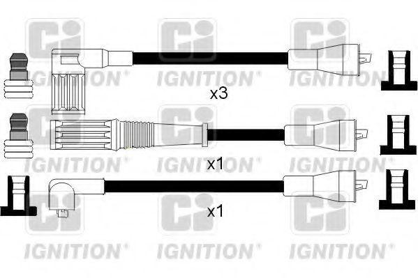 Комплект проводов зажигания QUINTON HAZELL XC181