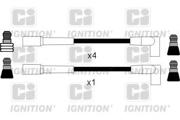 Комплект проводов зажигания QUINTON HAZELL XC204