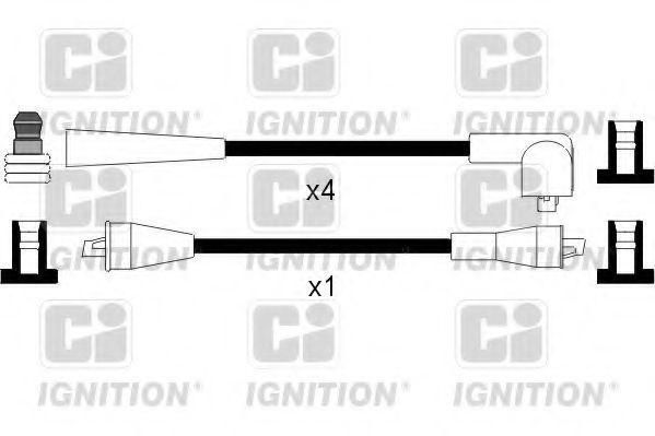 Комплект проводов зажигания QUINTON HAZELL XC209