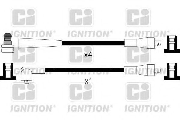 Комплект проводов зажигания QUINTON HAZELL XC212