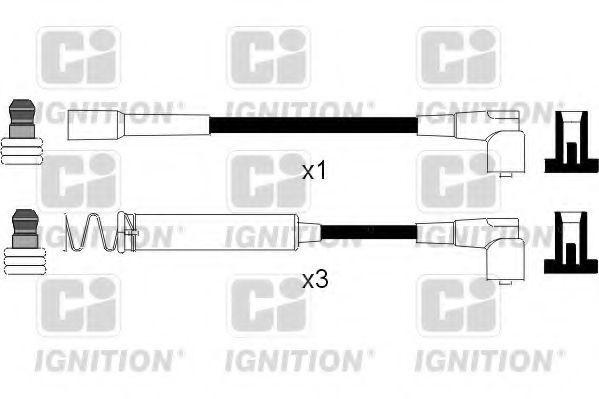 Комплект проводов зажигания QUINTON HAZELL XC214