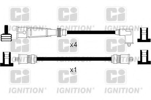 Комплект проводов зажигания QUINTON HAZELL XC226