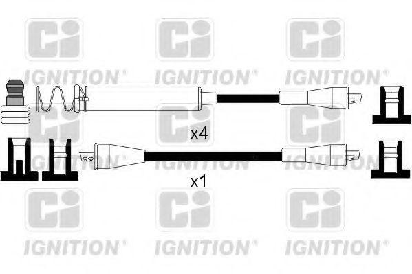 Комплект проводов зажигания QUINTON HAZELL XC229