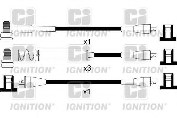 Комплект проводов зажигания QUINTON HAZELL XC231