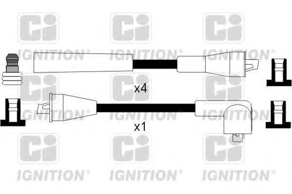 Комплект проводов зажигания QUINTON HAZELL XC256