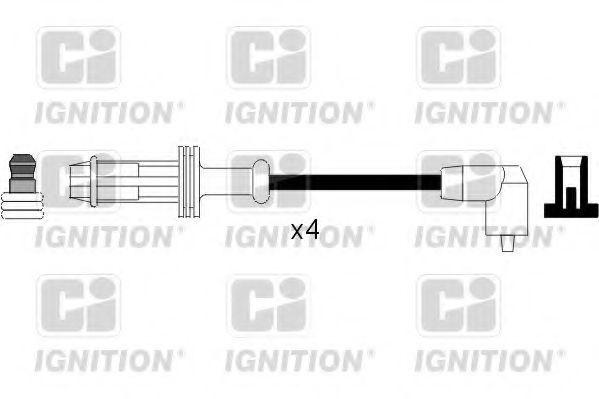 Комплект проводов зажигания QUINTON HAZELL XC257