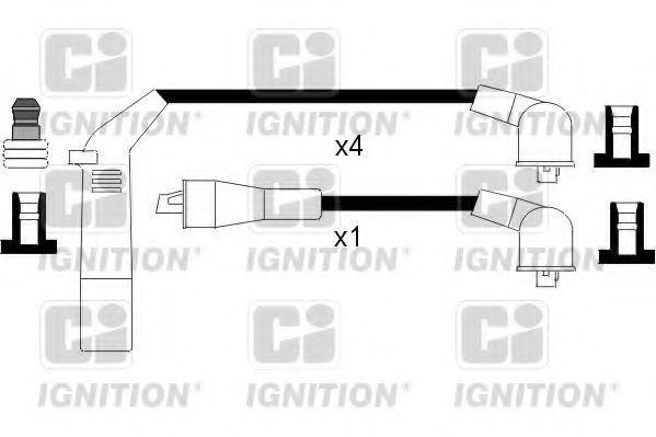 Комплект проводов зажигания QUINTON HAZELL XC342