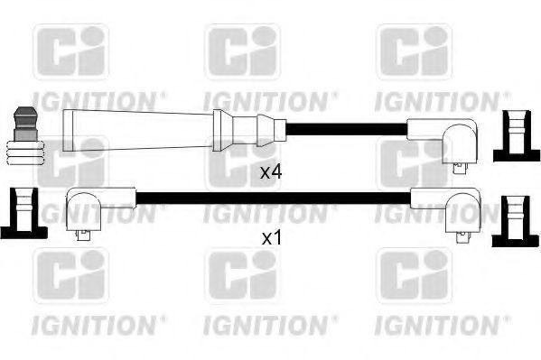 Комплект проводов зажигания QUINTON HAZELL XC349