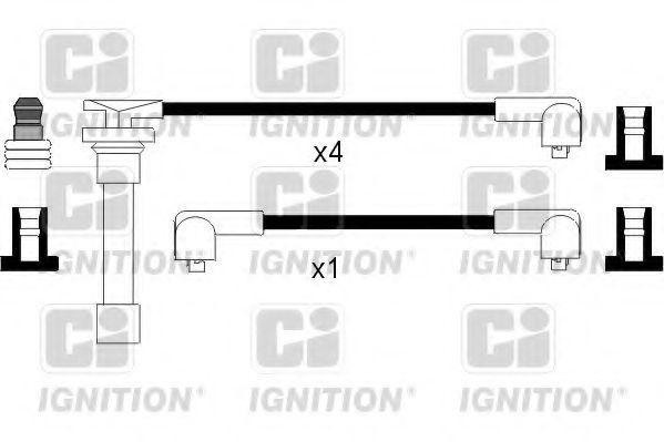 Комплект проводов зажигания QUINTON HAZELL XC357