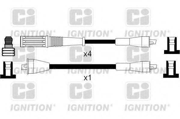 Комплект проводов зажигания QUINTON HAZELL XC368