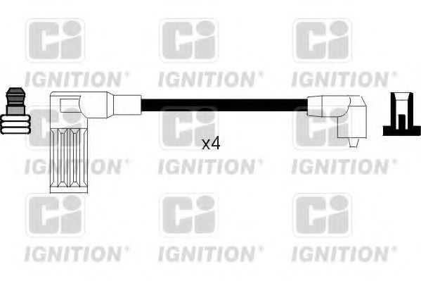 Комплект проводов зажигания QUINTON HAZELL XC377