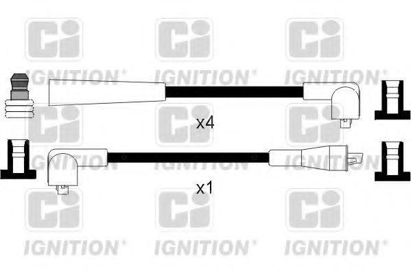 Комплект проводов зажигания QUINTON HAZELL XC421