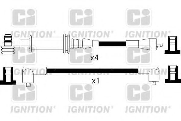 Комплект проводов зажигания QUINTON HAZELL XC448