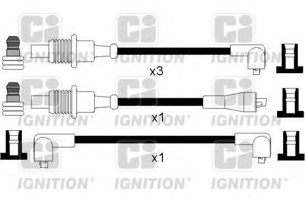 Комплект проводов зажигания QUINTON HAZELL XC449