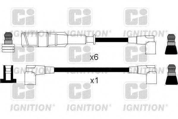 Комплект проводов зажигания QUINTON HAZELL XC462