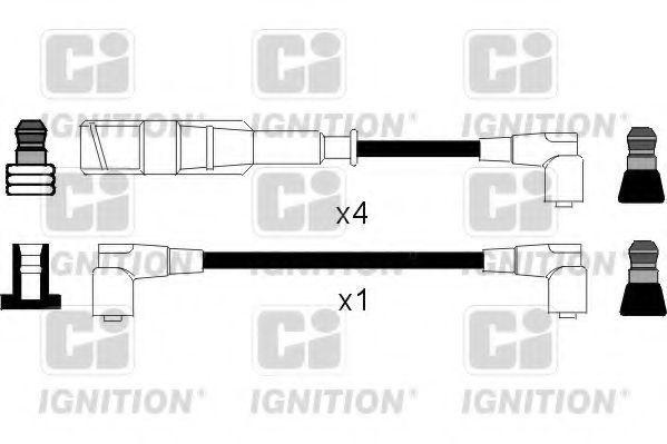 Комплект проводов зажигания QUINTON HAZELL XC463
