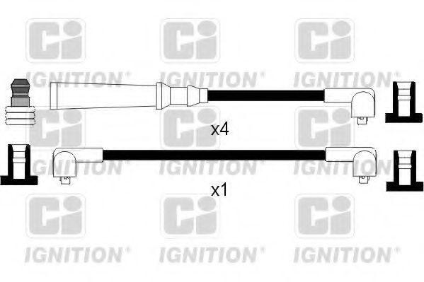 Комплект проводов зажигания QUINTON HAZELL XC498