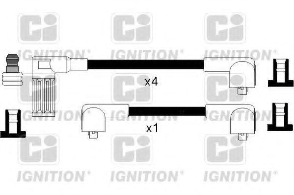 Комплект проводов зажигания QUINTON HAZELL XC519