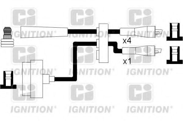 Комплект проводов зажигания QUINTON HAZELL XC559