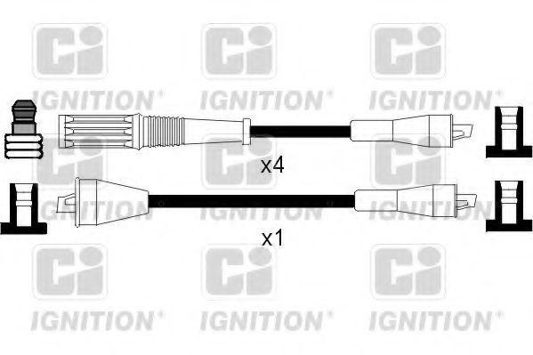 Комплект проводов зажигания QUINTON HAZELL XC583