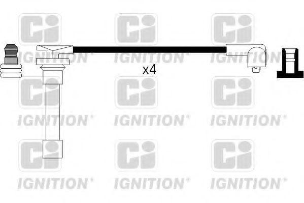 Комплект проводов зажигания QUINTON HAZELL XC665