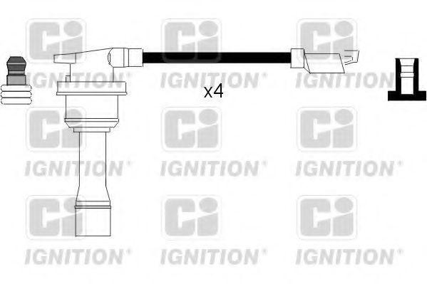 Комплект проводов зажигания QUINTON HAZELL XC678