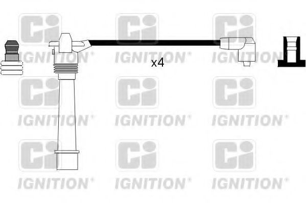 Комплект проводов зажигания QUINTON HAZELL XC701