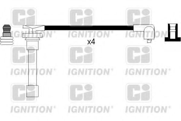 Комплект проводов зажигания QUINTON HAZELL XC704