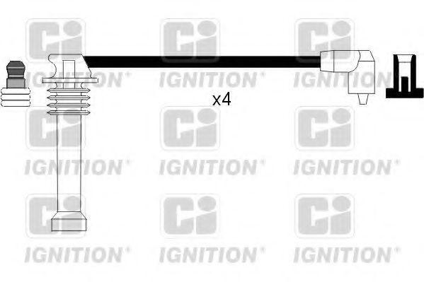 Комплект проводов зажигания QUINTON HAZELL XC710