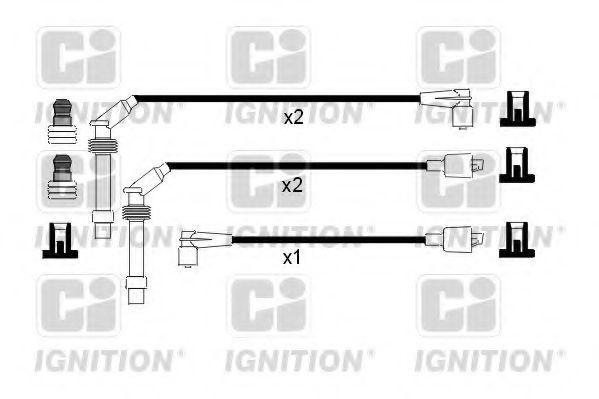 Комплект проводов зажигания QUINTON HAZELL XC716