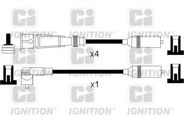 Комплект проводов зажигания QUINTON HAZELL XC760