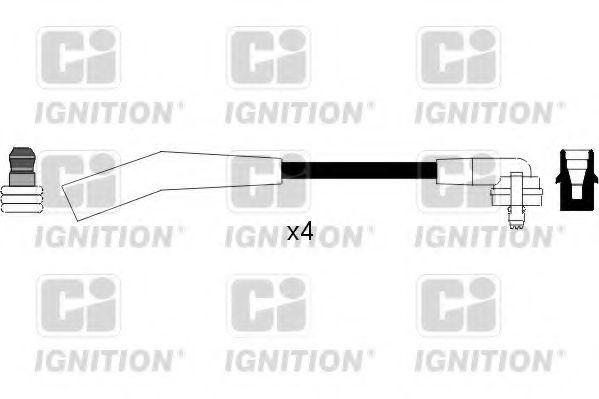 Комплект проводов зажигания QUINTON HAZELL XC769