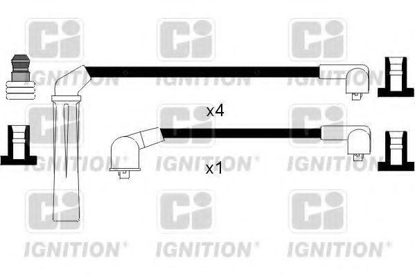Комплект проводов зажигания QUINTON HAZELL XC773