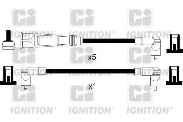Комплект проводов зажигания QUINTON HAZELL XC788