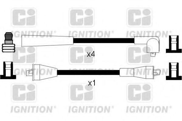 Комплект проводов зажигания QUINTON HAZELL XC791