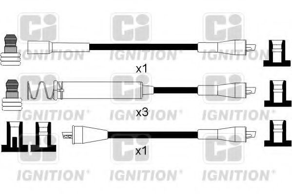 Комплект проводов зажигания QUINTON HAZELL XC792