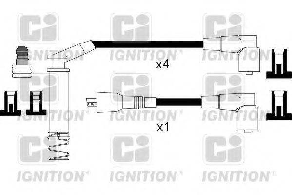 Комплект проводов зажигания QUINTON HAZELL XC793