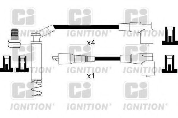 Комплект проводов зажигания QUINTON HAZELL XC796