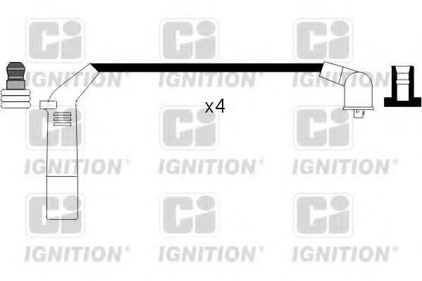 Комплект проводов зажигания QUINTON HAZELL XC806