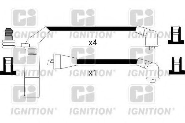 Комплект проводов зажигания QUINTON HAZELL XC807