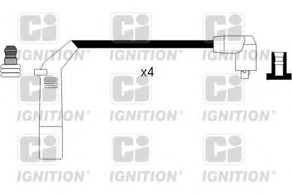 Комплект проводов зажигания QUINTON HAZELL XC808