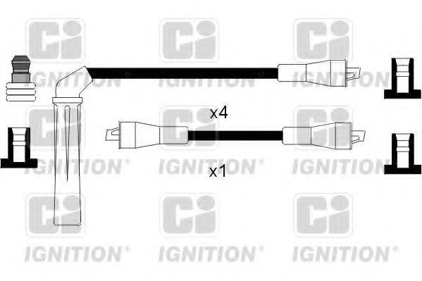 Комплект проводов зажигания QUINTON HAZELL XC818