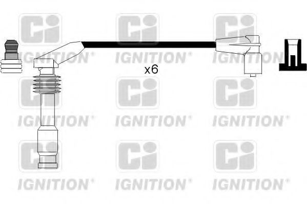 Комплект проводов зажигания QUINTON HAZELL XC819