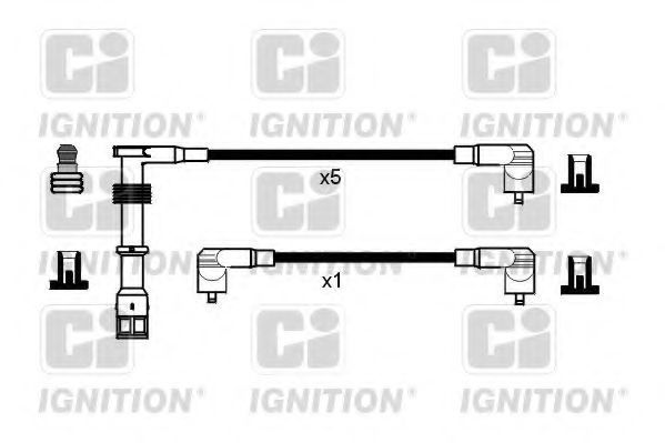 Комплект проводов зажигания QUINTON HAZELL XC825