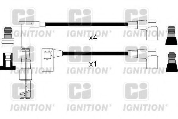 Комплект проводов зажигания QUINTON HAZELL XC831
