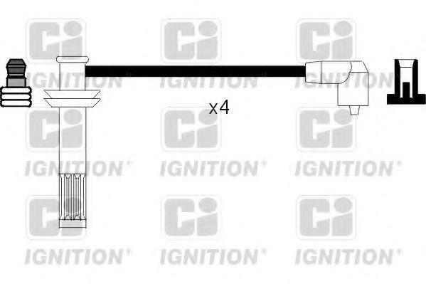 Комплект проводов зажигания QUINTON HAZELL XC845