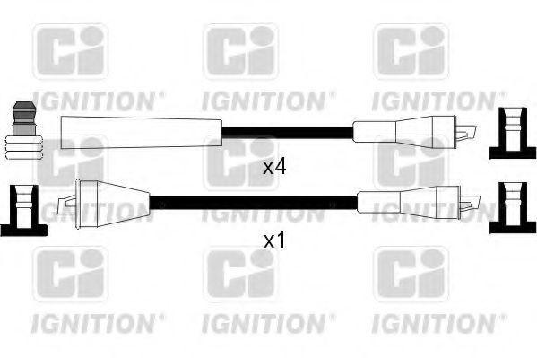 Комплект проводов зажигания QUINTON HAZELL XC846