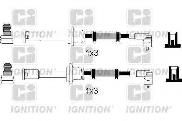 Комплект проводов зажигания QUINTON HAZELL XC848