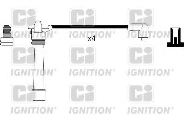 Комплект проводов зажигания QUINTON HAZELL XC880