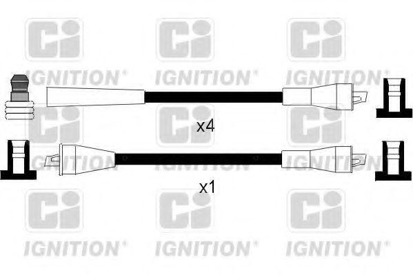 Провода высоковольтные комплект QUINTON HAZELL XC917